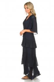 Munthe | Maxi-jurk Personality | blauw  | Afbeelding 4