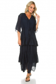 Munthe |  Maxi dress Personality | blue  | Picture 2