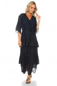 Munthe | Maxi-jurk Personality | blauw  | Afbeelding 2