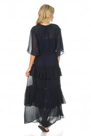Munthe | Maxi-jurk Personality | blauw  | Afbeelding 5