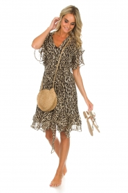 Munthe |  Dress Push | brown  | Picture 7
