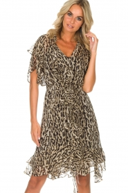 Munthe |  Dress Push | brown  | Picture 4