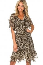 Munthe |  Dress Push | brown  | Picture 2