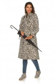Essentiel Antwerp |  Trench coat Ranger | animal print  | Picture 6