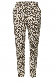 Essentiel Antwerp |  Trousers Runched | animal print  | Picture 1