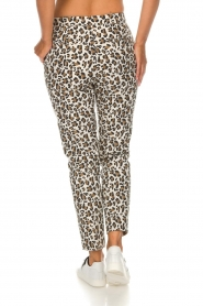 Essentiel Antwerp |  Trousers Runched | animal print  | Picture 5