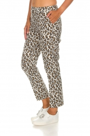 Essentiel Antwerp |  Trousers Runched | animal print  | Picture 4
