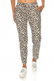 Essentiel Antwerp |  Trousers Runched | animal print  | Picture 3