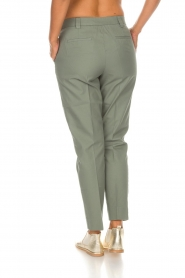 Essentiel Antwerp |  Trousers Runched | green  | Picture 4