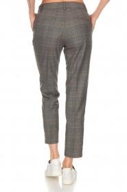 Essentiel Antwerp |  Checkered trousers Rock | grey  | Picture 5