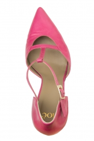 Noe |  Leather pumps Hot Pink | pink  | Picture 5