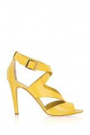 Noe | Leren pumps Nabile | geel  | Afbeelding 1