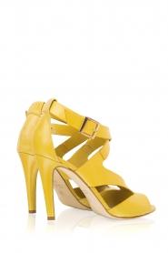 Noe | Leren pumps Nabile | geel  | Afbeelding 4