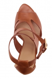 Noe |  Leather pumps Nabila | brown  | Picture 5