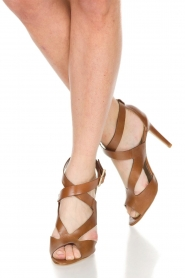 Noe |  Leather pumps Nabila | brown  | Picture 2