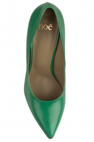 Noe |  Leather pumps Nicole | Green  | Picture 6