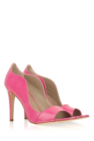 Noe |  Leather pumps Noom | pink  | Picture 3