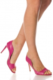 Noe |  Leather pumps Noom | pink  | Picture 2