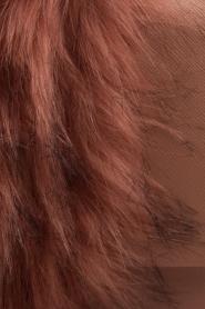 Essentiel Antwerp |  Shoulder bag with faux fur Rioca | pink  | Picture 5