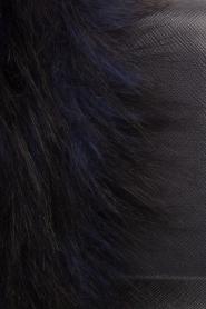 Essentiel Antwerp | Schoudertas met nepbont Rioca | blauw  | Afbeelding 6