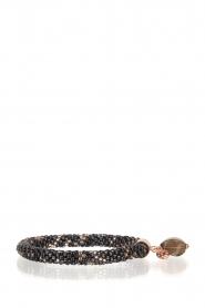 Tembi | Armband van kralen Beaded Crochet | blauw  | Afbeelding 1