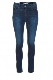 Lois Jeans | Skinny jeans Celia | donkerblauw  | Afbeelding 1