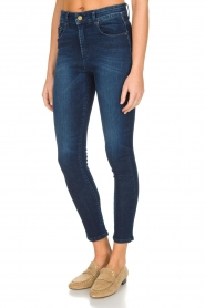 Lois Jeans | Skinny jeans Celia | donkerblauw  | Afbeelding 4
