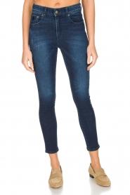 Lois Jeans | Skinny jeans Celia | donkerblauw  | Afbeelding 2