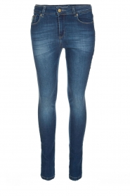 Lois Jeans | Cropped jeans Cordoba High Rise | Blauw  | Afbeelding 1