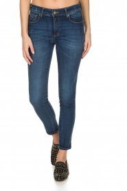 Lois Jeans | Cropped jeans Cordoba High Rise | Blauw  | Afbeelding 2