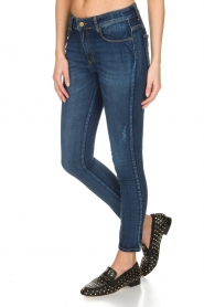 Lois Jeans | Cropped jeans Cordoba High Rise | Blauw  | Afbeelding 4