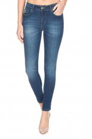 Lois Jeans | Cropped jeans Cordoba Regular Waist | Blauw  | Afbeelding 2
