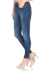 Lois Jeans | Cropped jeans Cordoba Regular Waist | Blauw  | Afbeelding 4
