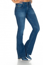 Lois Jeans | Flared jeans Melrose L32 | Blauw  | Afbeelding 4