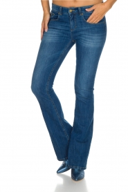 Lois Jeans | Flared jeans Melrose lengtemaat 32 | Blauw  | Afbeelding 2
