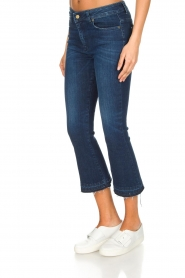 Lois Jeans | Mid-rise flared jeans Marbella | donkerblauw  | Afbeelding 4