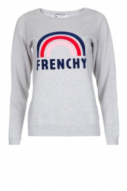 French Disorder | Luxe sweater Frenchy | Lichtgrijs  | Afbeelding 1