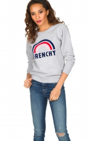 French Disorder | Luxe sweater Frenchy | Lichtgrijs  | Afbeelding 4