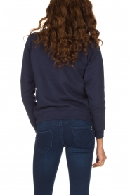 French Disorder |  Luxurious sweater Matriochka | Navy blue  | Picture 5