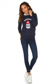 French Disorder |  Luxurious sweater Matriochka | Navy blue  | Picture 3