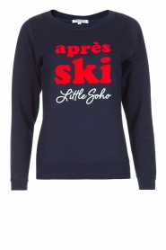 French Disorder | Luxe sweater Après Ski | donkerblauw  | Afbeelding 1