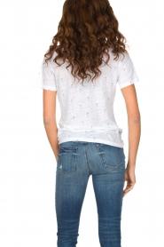 RAILS | T-shirt Martini print Cara | wit  | Afbeelding 5
