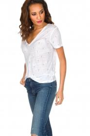 RAILS | T-shirt Martini print Cara | wit  | Afbeelding 4