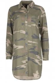 RAILS | Legerprint jurk Julian Sage Camo | groen  | Afbeelding 1