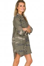 RAILS | Legerprint jurk Julian Sage Camo | groen  | Afbeelding 4