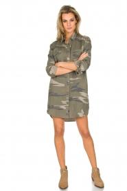 RAILS | Legerprint jurk Julian Sage Camo | groen  | Afbeelding 3
