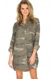 RAILS | Legerprint jurk Julian Sage Camo | groen  | Afbeelding 2