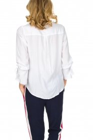 RAILS |  Blouse with tied trumpet sleeves Astrid White | white  | Picture 5