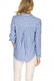 RAILS | Gestreepte blouse Aly Hermosa Stripe | blauw  | Afbeelding 5