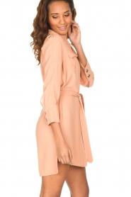 ELISABETTA FRANCHI | Tuniekjurk met gouden knopen Evelina | Old roze  | Afbeelding 5